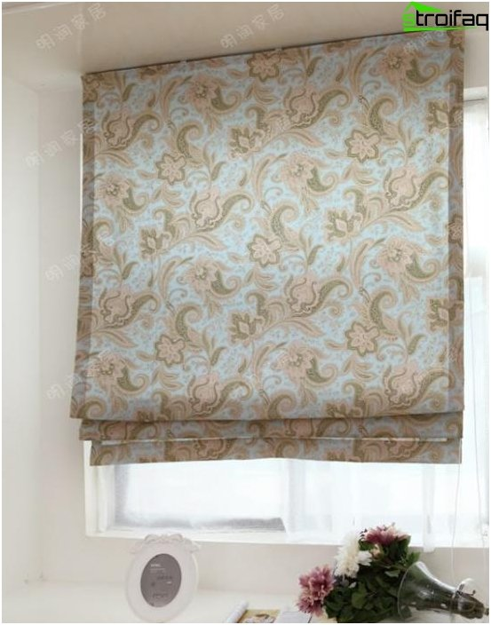 Fabric roller blinds - photo 3