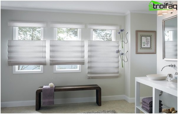 Photo Roman blinds - 3