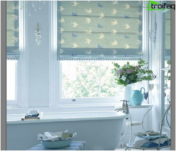 classical Roman blinds - 1
