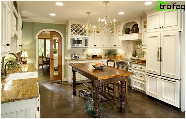 Kitchen 2016: classic style - 01