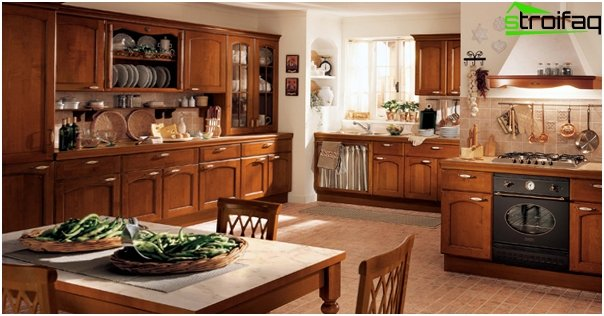 Kitchen 2016: classic style - 02