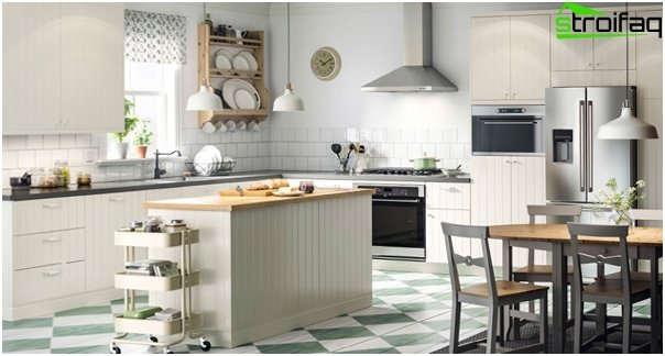 White kitchen from Ikea - 2