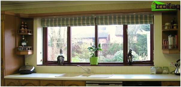 frameless Roman blinds - 2