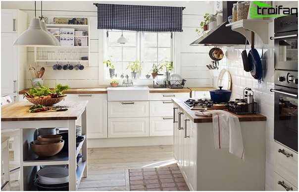 White kitchen from Ikea - 4