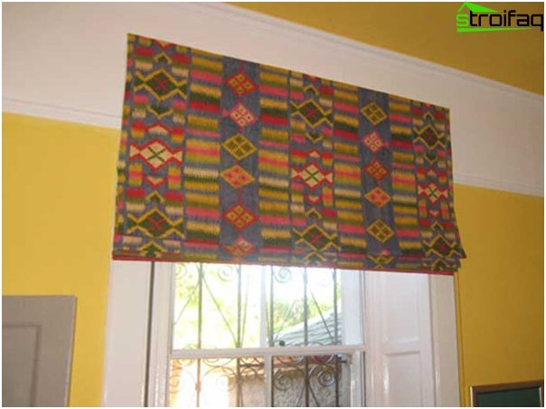 frameless Roman blinds - 3