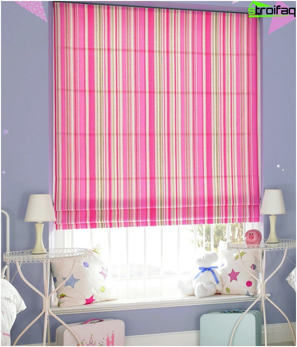 frameless Roman blinds - 4
