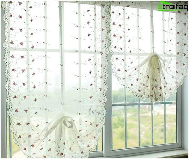 frameless Roman blinds - 5