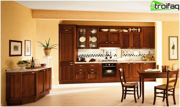 Kitchen furniture made of wood - 4