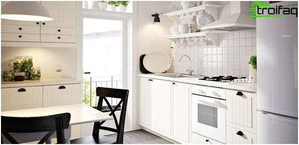 Kitchen furniture from Ikea (white) - 4