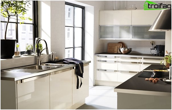 Kitchen furniture from Ikea (white) - 5