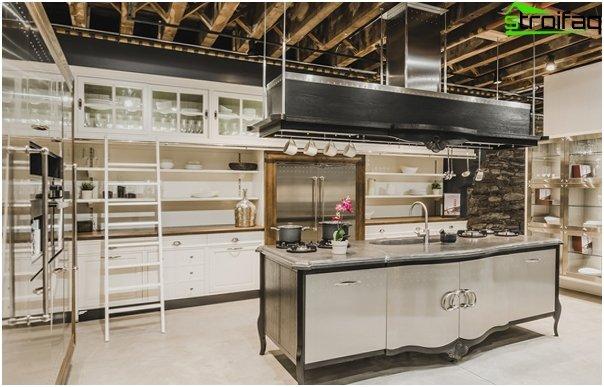Kitchen 2016: style loft - 01