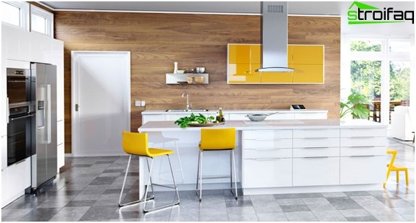 Bright kitchen from Ikea - 1