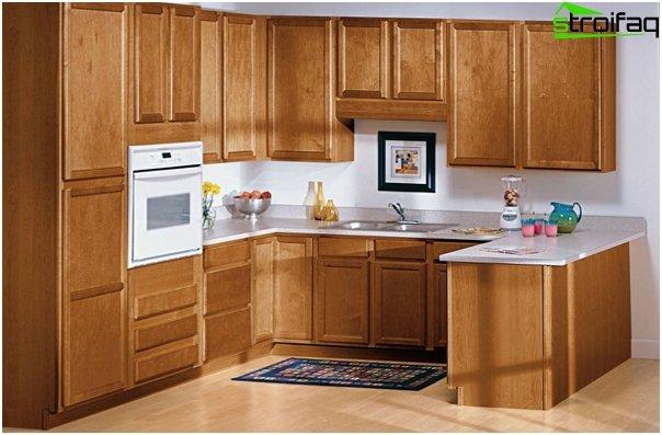 Кухонная мебель из МДФ / ДСП-2
