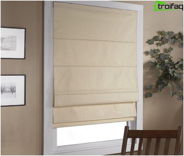 linen roman blinds - 6