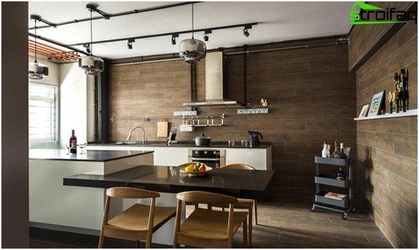 Kitchen 2016: style loft - 02