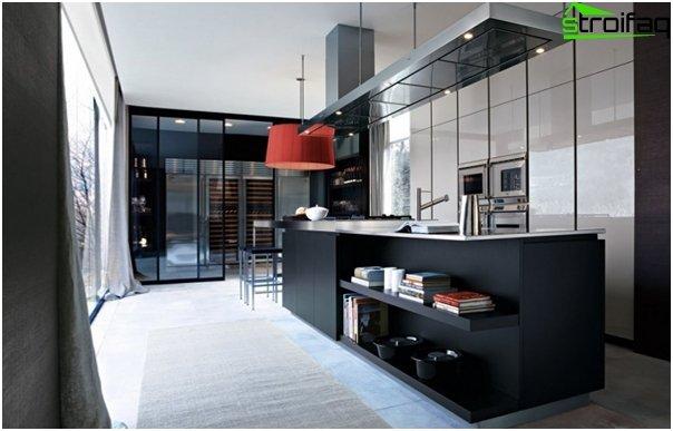 Мебель из металла кухня-3