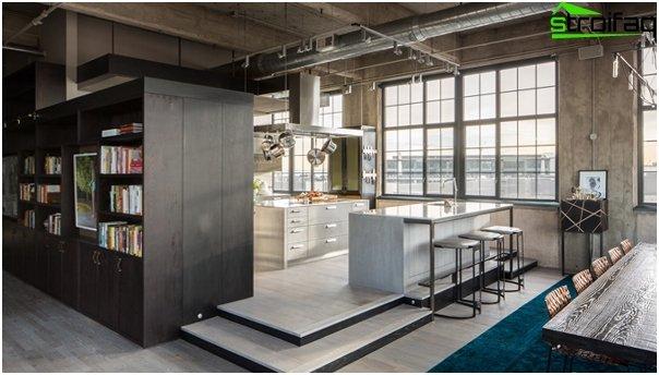 Kitchen 2016: style loft - 03