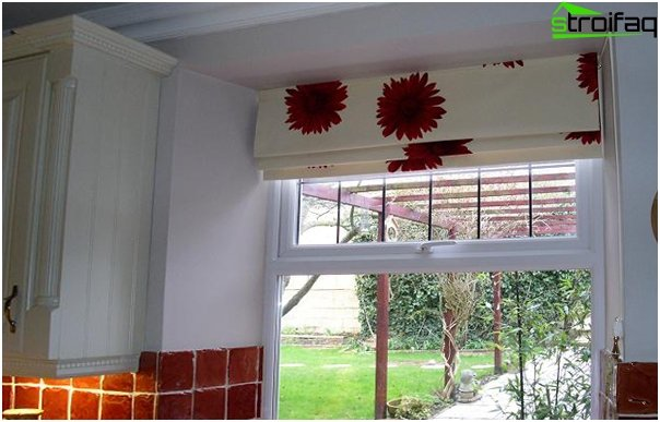 cotton Roman blinds - 3