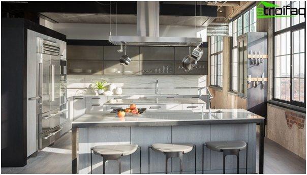 Kitchen 2016: style loft - 04