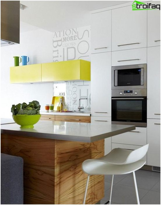 Kitchen furniture made of plastic -2