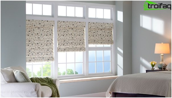 cotton Roman blinds - 5