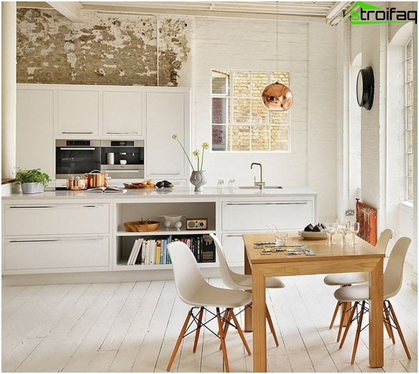 Kitchen furniture made of plastic - 3