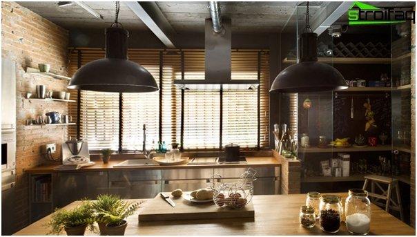 Kitchen 2016: style loft - 05