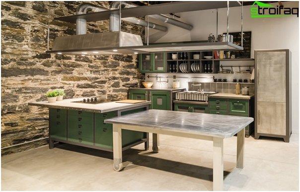 Kitchen 2016: style loft - 06