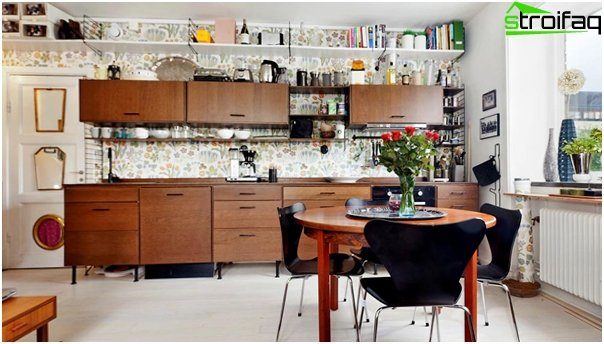 Wooden kitchen from Ikea - 1