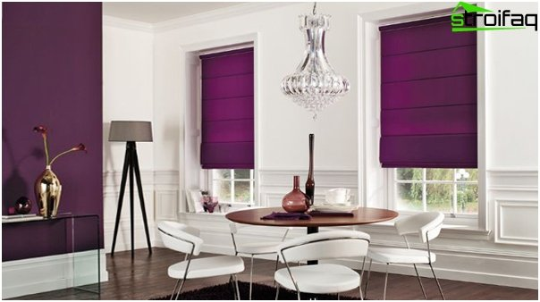 synthetic Roman blinds - 1