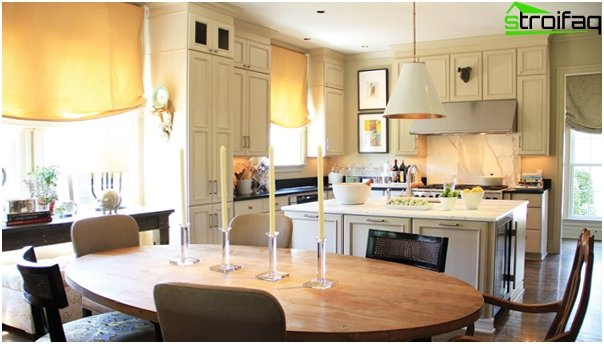 Kitchen furniture (dining table) - 3