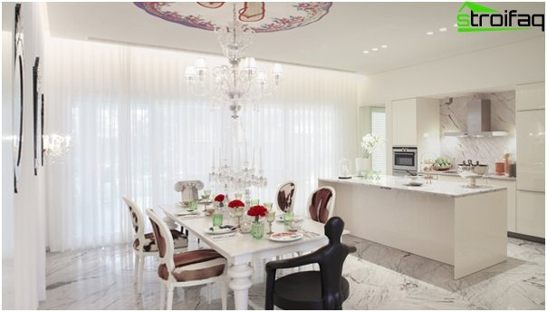 Kitchen furniture (dining table) - 5