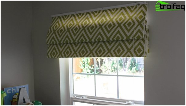 Blended Roman blinds - 1