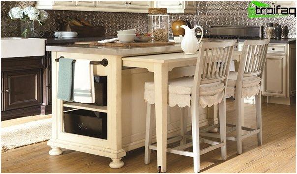 Кухонная мебель (настольный остров) - 1