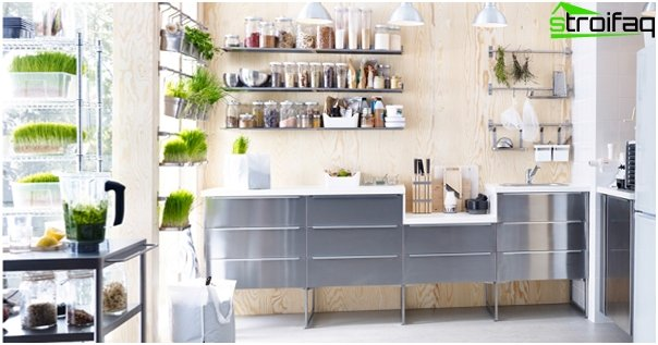 Metal kitchen from Ikea - 2