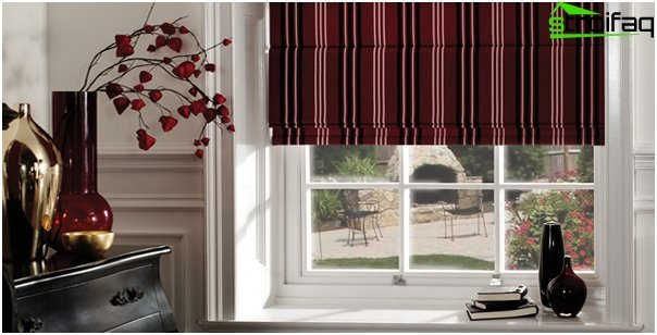 Blended Roman blinds - photo 2