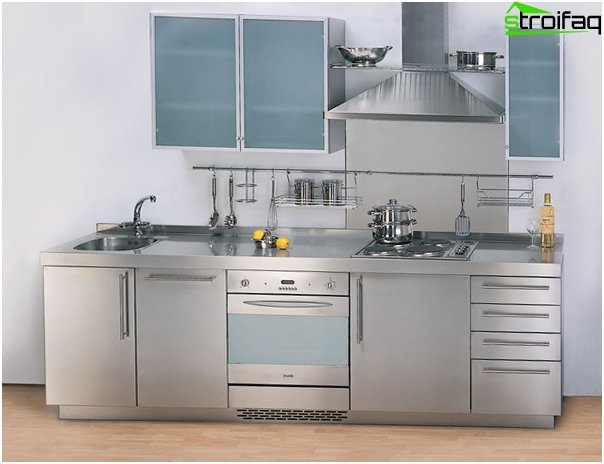 Metal kitchen from Ikea - 4