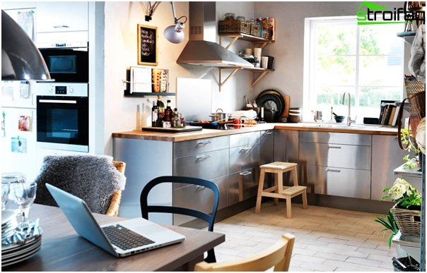 Kitchen furniture from Ikea (Metal) - 1