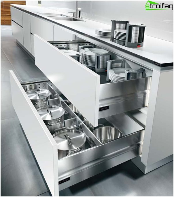 Kitchen furniture (cabinets and drawers) - 5