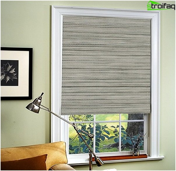 Roman blinds in a colonial style - 7