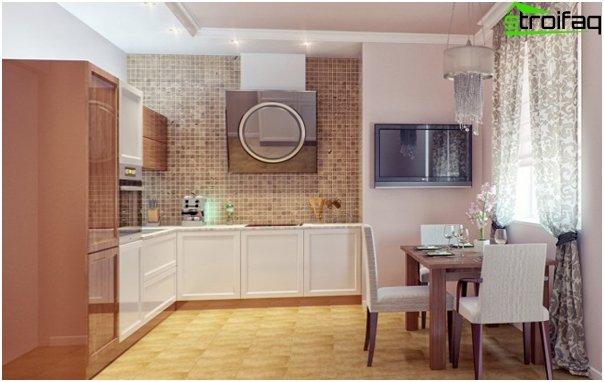 Мебель для небольшой кухни-1