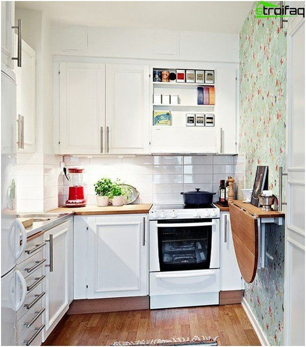 Мебель для небольшой кухни-2