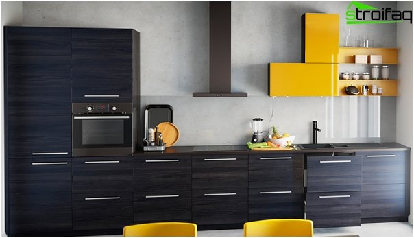 The doors of kitchen furniture from Ikea - 3