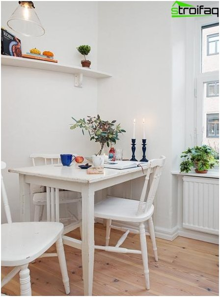 Dining table for a small kitchen - 1