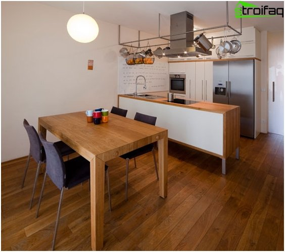 Dining table for a small kitchen - 3
