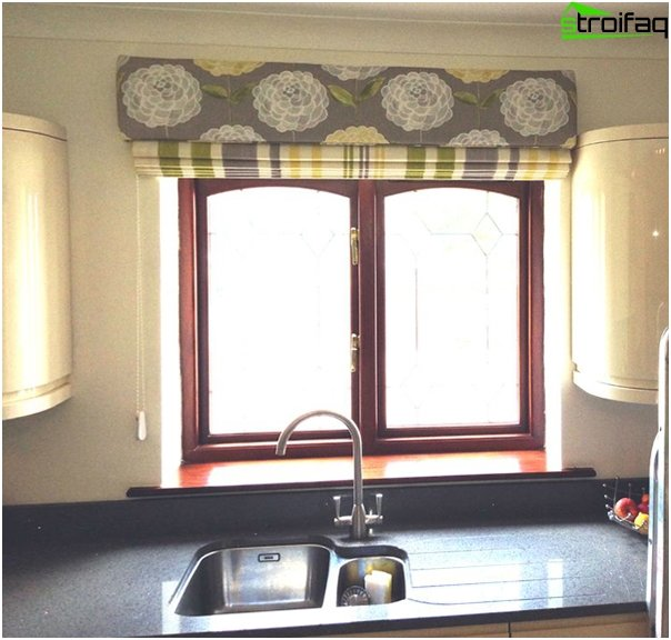 Roman blinds retro - 1