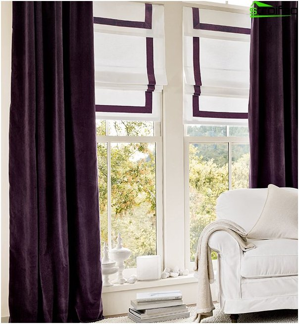 Roman blinds retro - 5
