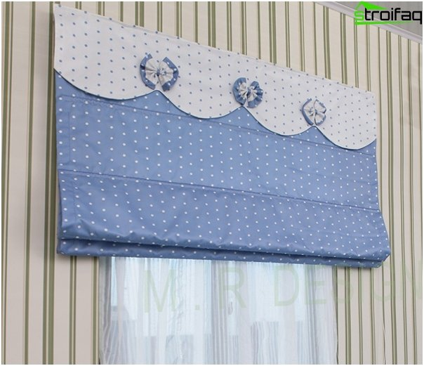 Roman blinds retro - 6