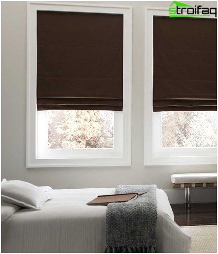 Roman blinds minimalism - 1