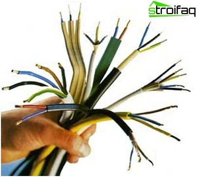 Types of cables and wires